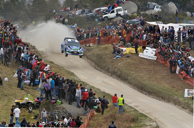 Solberg - Fafe Rally 2012