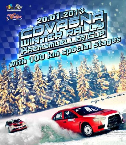Covasna Winter Rally afis