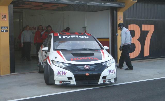 Honda testing
