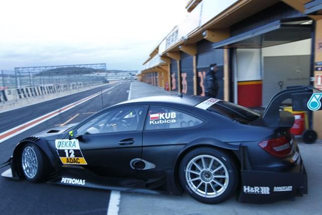 Kubica Test Mercedes DTM