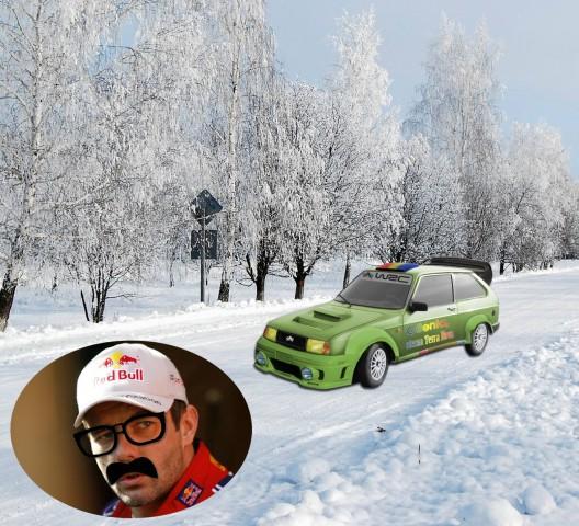 Oltcit WRC Sebastien Loeb