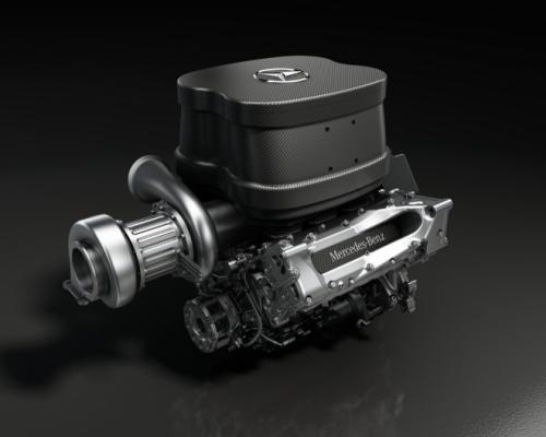 Motorul Mercedes-Benz pentru sezonul 2014