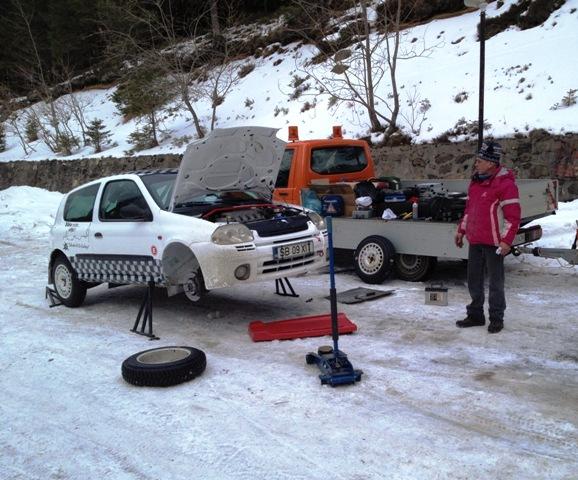 pregatiri covasna winter rally 2