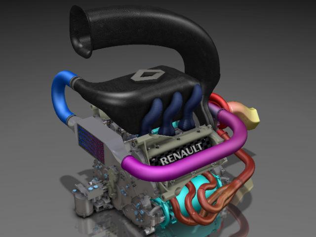 Ansamblul propulsor propus de Renault pentru 2014 (motor+ERS)