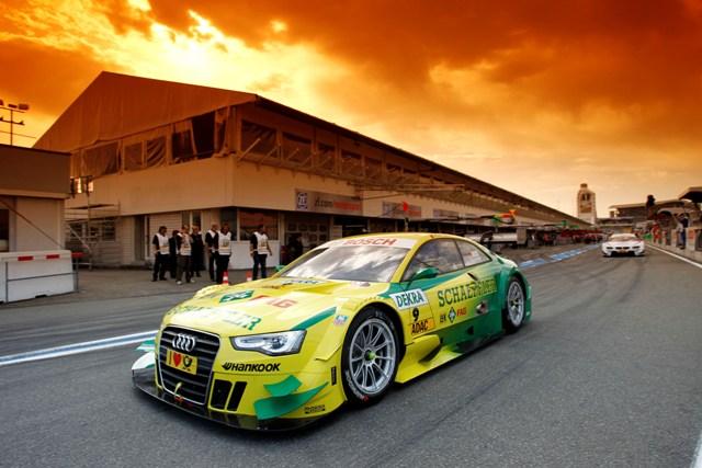 #9 Mike Rockenfeller (Phoenix Racing / Audi A5 DTM)