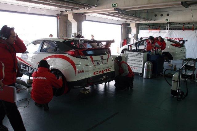 Honda Civic WTCC test