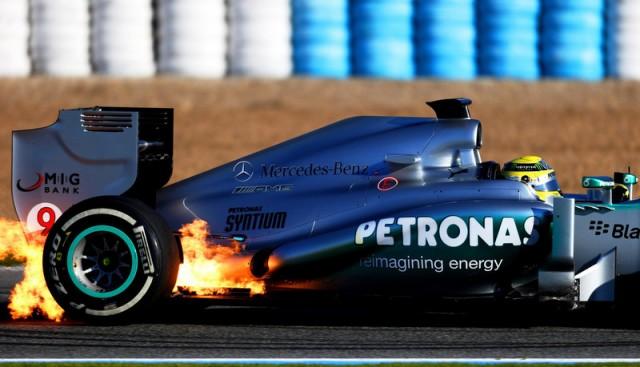 Rosberg-fire