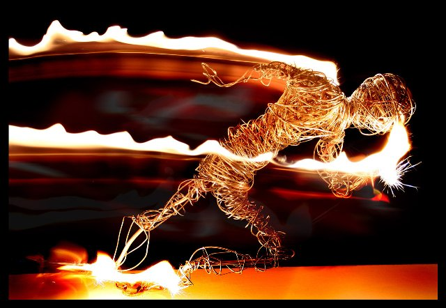 Running_Man_on_Fire_by_evilopi8