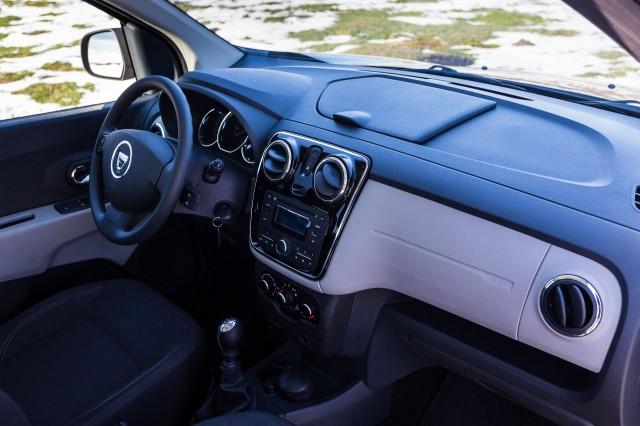 Dacia Lodgy - bord