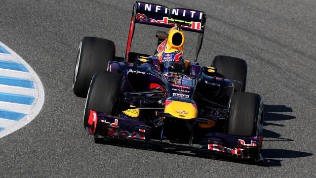 FORMULA 1 - Tests in Jerez