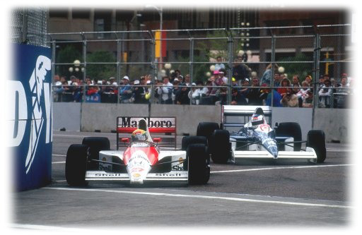 Senna vs Alesi