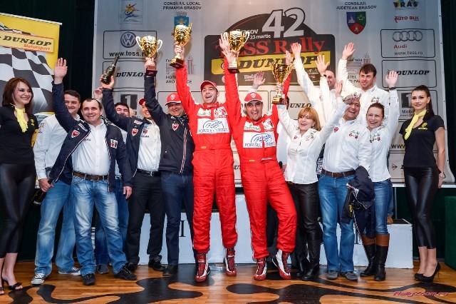 Bacau Rally Team - Tess Rally Dunlop 2013