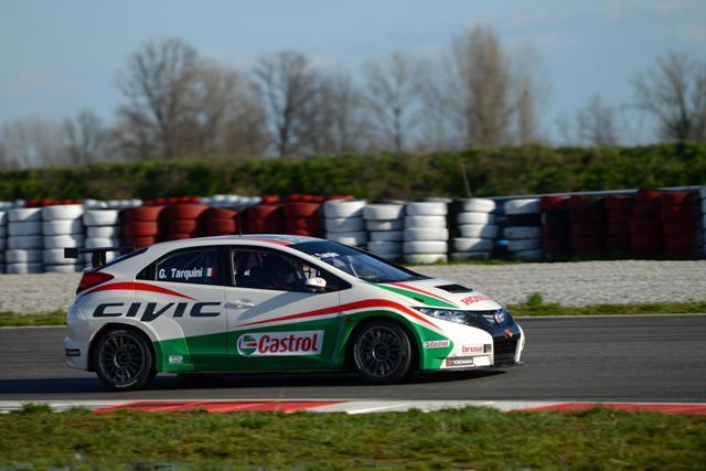Honda Civic WTCC Tarquini