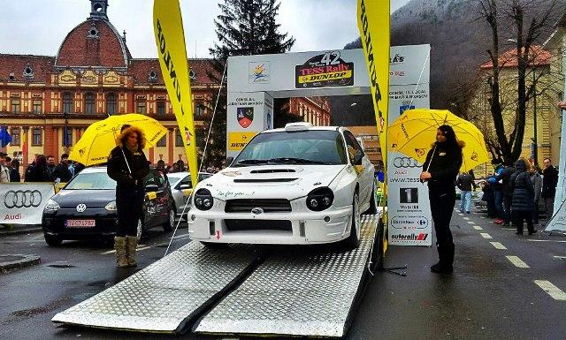 Raliul Brasovului Subaru WRC