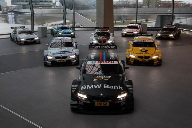 BMW DTM cars 2013