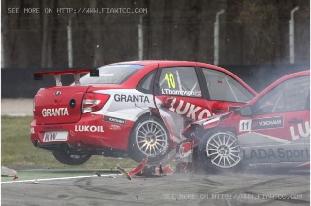Lada crash Monza