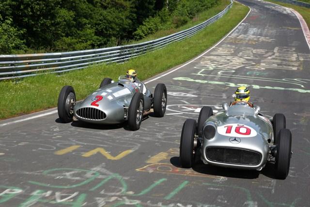 Mercedes-Benz vintage F1