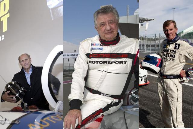 Porsche drivers