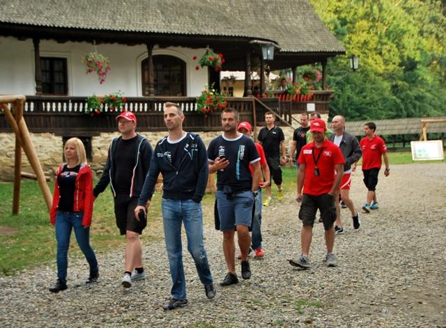 Rally ERC drivers visit