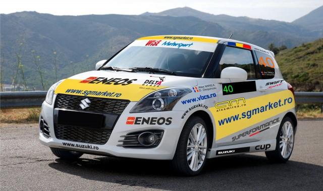 Alex MIREA va lua startul la Sibiu la bordul noului Suzuki Swift Sport