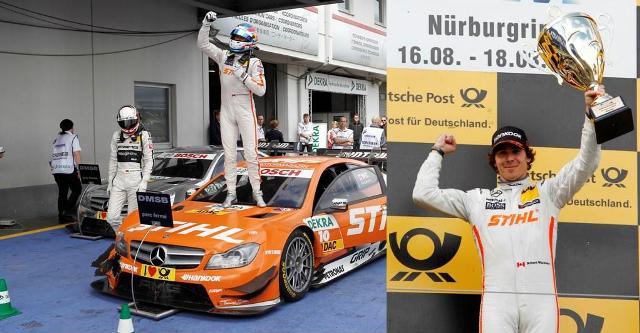Robert Wickens - prima victorie in DTM