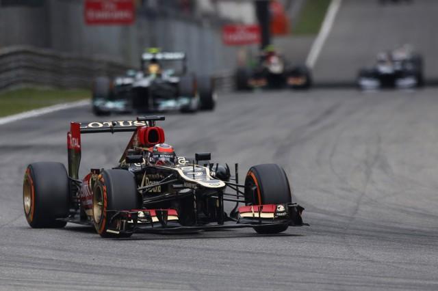 Autodromo Nazionale di Monza, Monza, Italy. 8th September 2013. Kimi Raikkonen, Lotus E21 Renault. Photo: Andrew Ferraro/Lotus F1 Team. ref: Digital Image _79P3161