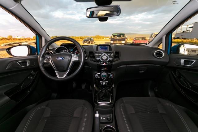 Ford Fiesta 2013 Titanium - Interior