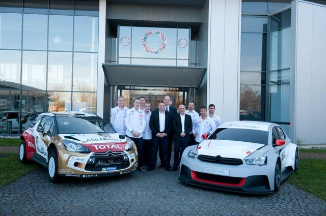 Citroen Racing Team presentation 2014