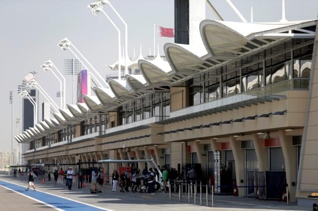 Bahrain International Circuit - View of the pit lane
