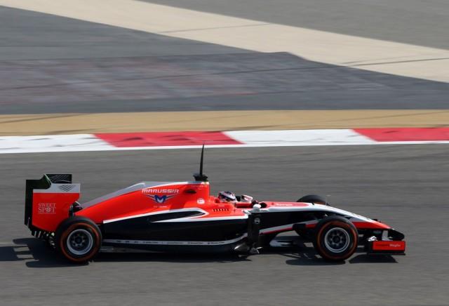 Jules Bianchi (FRA) Marussia F1 Team MR03. 19.02.2014. Formula One Testing, Bahrain Test One, Day One, Sakhir, Bahrain.