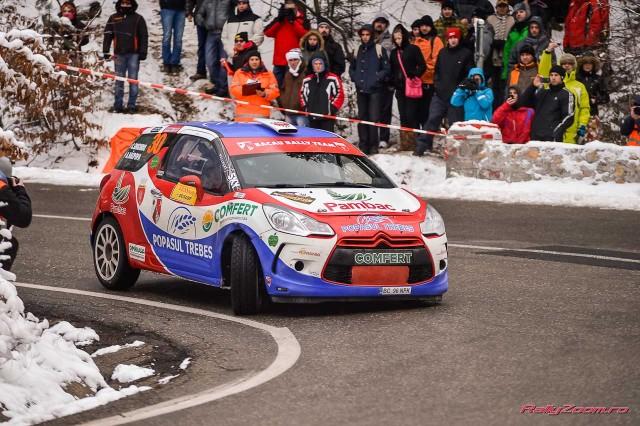 Echipajul Adrian Raspopa/ Catalin Grigoriu la editia din 2013
