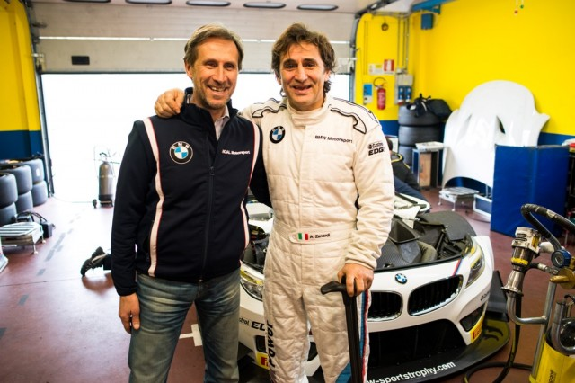 Roberto Ravaglia & Alessandro Zanardi