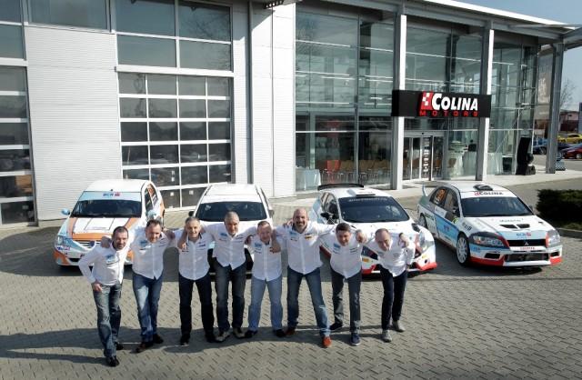 BCR Leasing Rally Team 2014