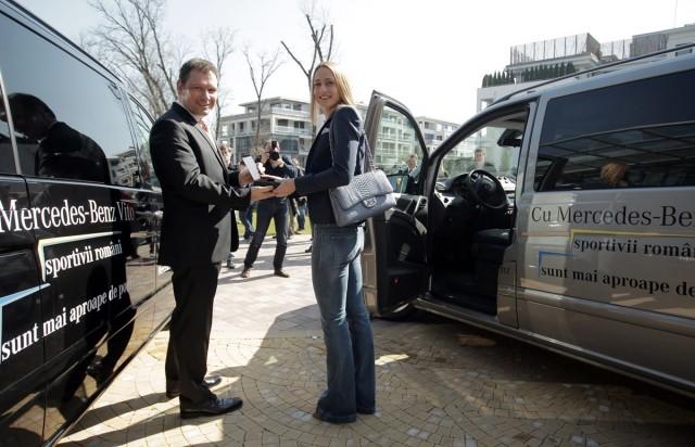 Boris Billich - CEO Mercedes-Benz Romania, alaturi de Camelia Potec