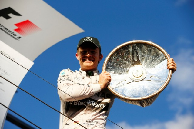 Nico Rosberg 2014 Melbourne