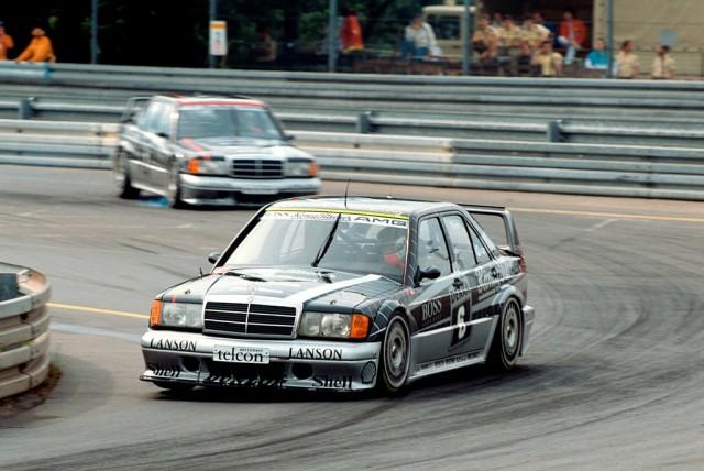 Norisring, July 1, 1990. Kurt Thim - AMG Mercedes190 E 2.5.-16 Evolution II racing touring car.