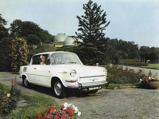 SKODA 1000MB - 50 years - 029 - 1000 MBX bila - 1968