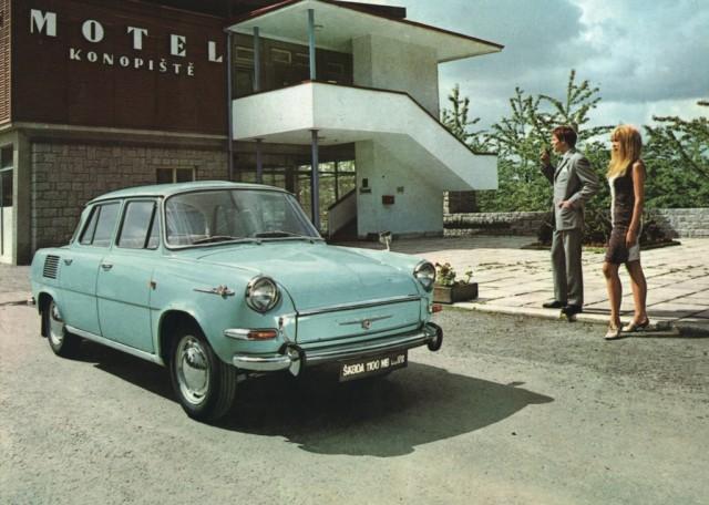 SKODA 1000MB - 50 years - 030 - Skoda 1100 MB De Luxe Konopiste - 1968