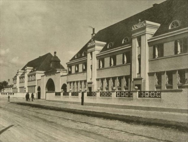 New location of BMW Group Classic, Gatehouse at Moosacherstrasse in 1924