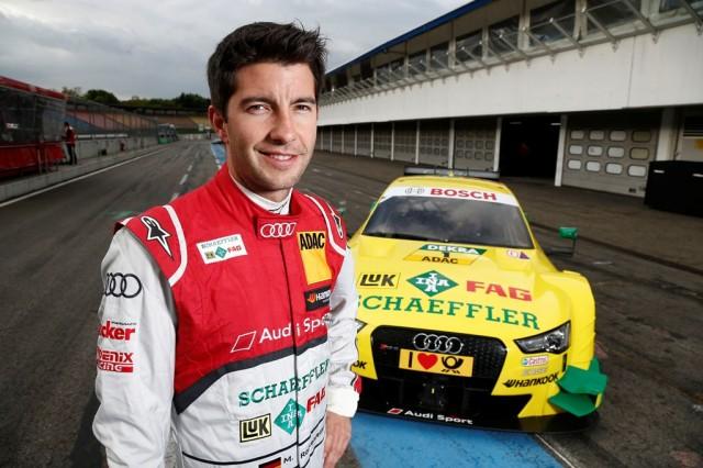 Motorsports / DTM test drives Hockenheim