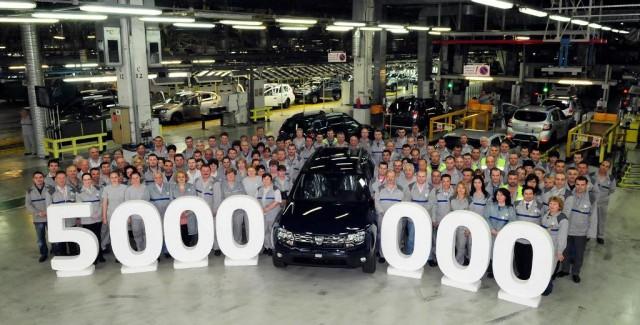 Dacia 5 milioane masini