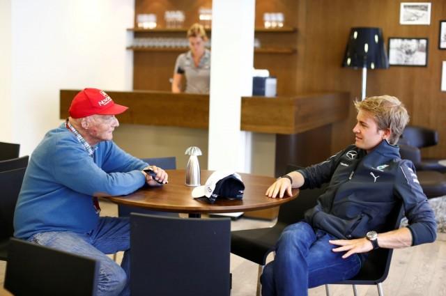 Lauda & Rosberg
