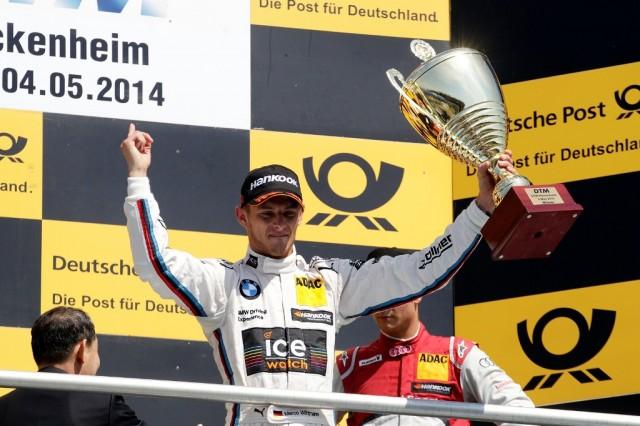 Marco Wittmann 2014 podium