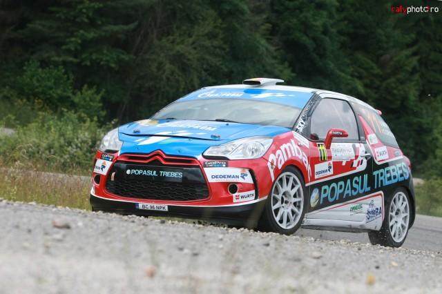 Adi Raspopa - Transilvania Rally 2014