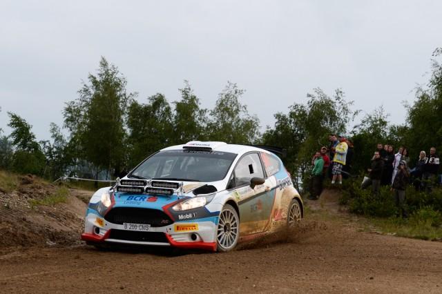 Edwin Keleti si Botond Csomortani_Ford Fiesta R5_Transilvania Rally