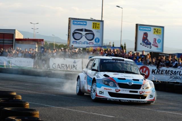 Gergo Szabo si Karoly Borbely_Skoda Fabia S2000_Transilvania Rally