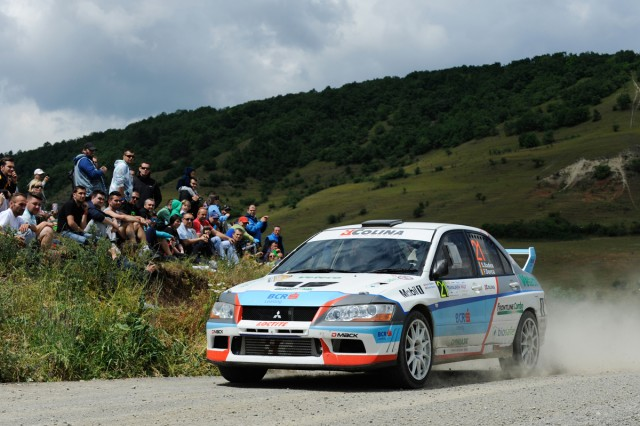 Sorin Badea si Florin Dorca_Mitsubishi Evo VII_Transilvania Rally