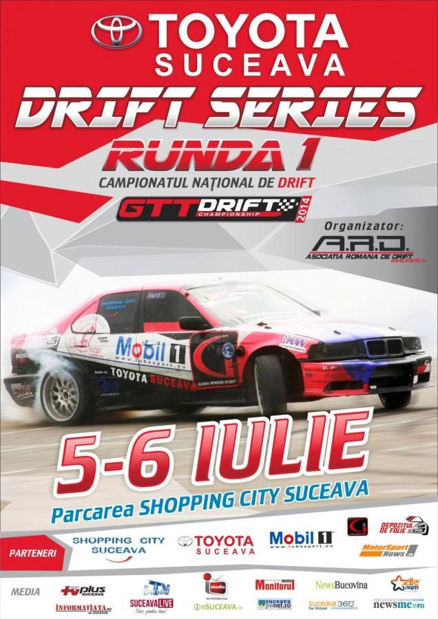 Afis Suceava Drift 2014