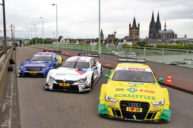 DTM in Köln: DTM Mercedes AMG C-Coupé, BMW M4 DTM, Audi RS5 DTM