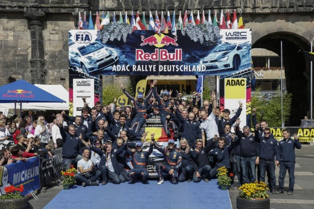 Rally Germany Hyundai 2014